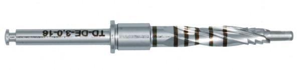Einpatienten-Teleskopbohrer 3,0-3,4mm Durchmesser für Implantatlängen bis 16mm, steril verpackt